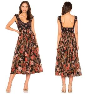 NWT Free People Love You Floral Midi Dress